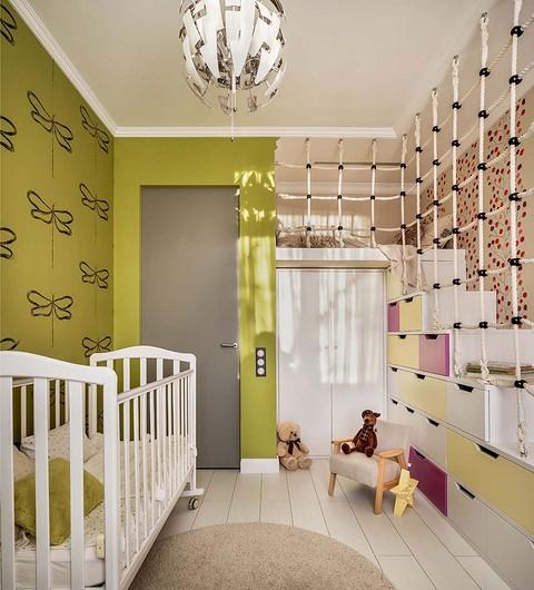 Мебель в детской получилась вм&...