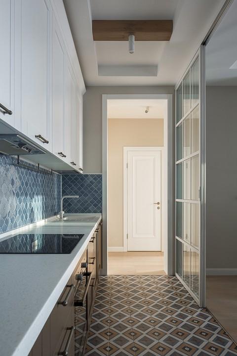 Кухонный фартук из глазурован&#...