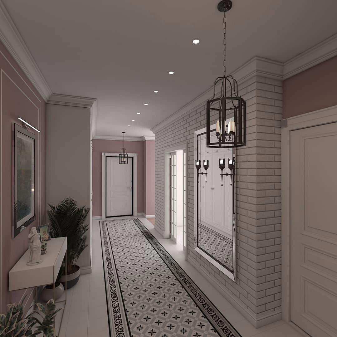 приобрела коридор узкий в частном доме фото время мария была