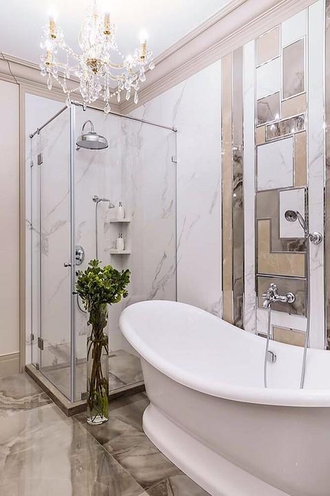 Дизайн стен и аксессуаров ванн&...