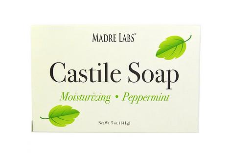 Кастильское мыло с запахом мяты