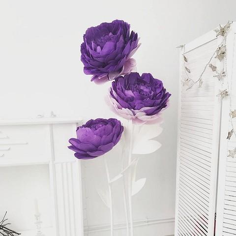 Эти яркие гигантские цветы точ&...
