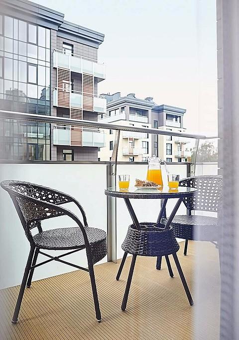 На балконе устроили импровизи&#...