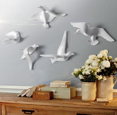 Настенное украшение в виде птиц