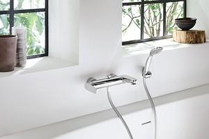 Как установить смеситель в ванной комнате своими руками