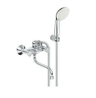 Двухрычажный смеситель для ванны с душем Grohe Costa