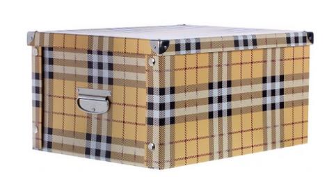 Картонная коробка для хранения