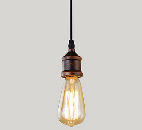 Подвесная лампа металлическая