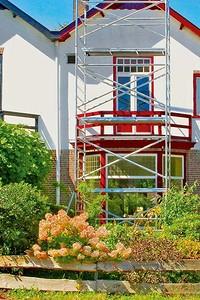 Выбираем фасадные краски для бетонных, кирпичных и оштукатуренных стен