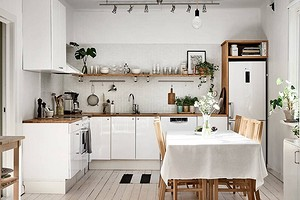 9 способов добавить в вашу кухню модных сканди-элементов (даже без ИКЕА!)