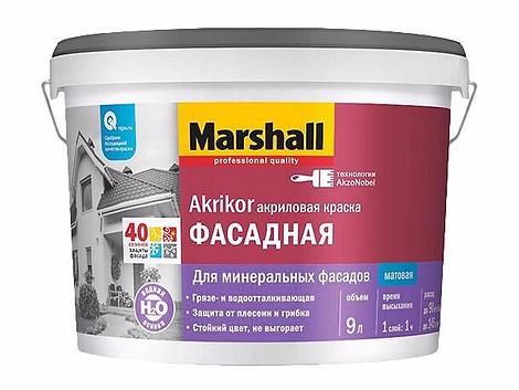 Краска для фасада Marshall Akrikor 2,5 л