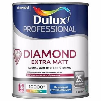Водоэмульсионная краска Dulux Diamond Extra Matt