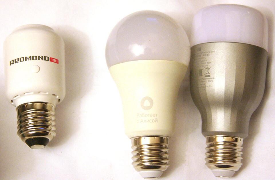 Умные лампочки Яндекс и Xiaomi, а такж...