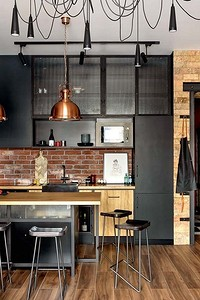 Оформляем кухню в черном цвете: красивые идеи и советы
