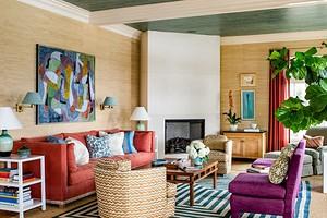 Сочетание цветов в интерьере гостиной: как самостоятельно подобрать оттенки и не ошибиться
