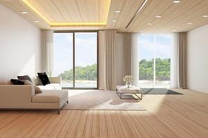 Ламинат на потолке: все о выборе и монтаже материала