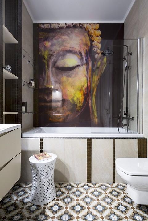 Ванная комната наполнена атмо&#...