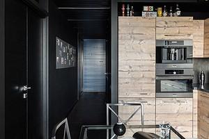 7 правил для тех, кто хочет использовать черный цвет в маленькой квартире