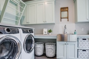 Дизайн ванной комнаты со стиральной машиной: вмещаем технику и делаем пространство функциональным
