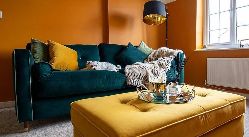 7 лучших цветовых сочетаний в интерьере для любителей тепла и уюта