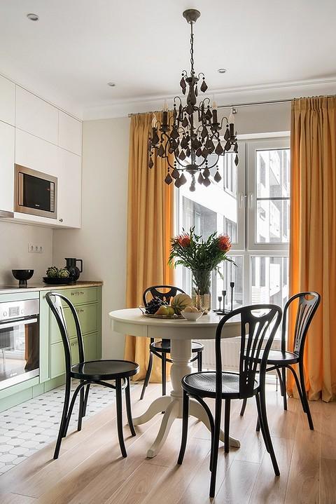 Кухонный гарнитур тоже выполн&#...
