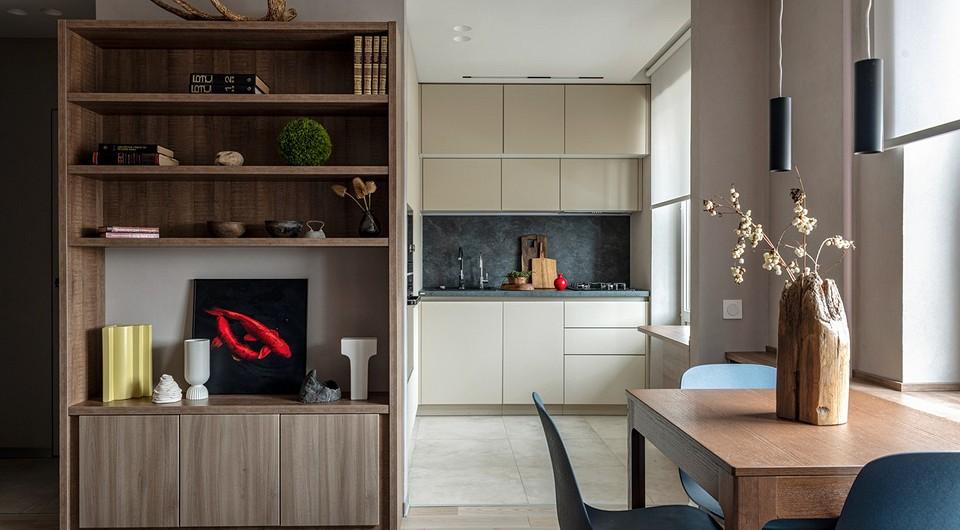 Современный интерьер маленькой двухкомнатной квартиры в типовом доме