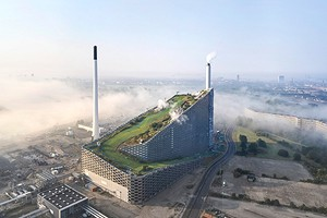 Как выглядит мусорный завод, который спрятали под горнолыжной трассой