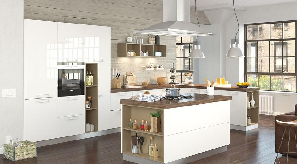 Глянцевые или матовые: какие фасады кухни выбрать?