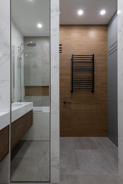 Расширение ванной комнаты за с&...
