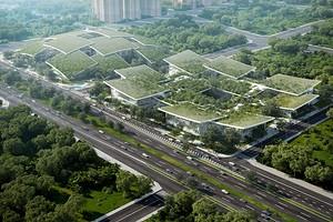 Кампус AI City: как будет выглядеть город будущего в Китае