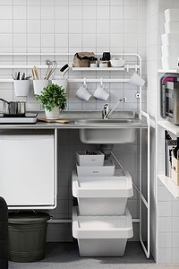 Как собрать дешевую кухню в ИКЕА: 12 товаров, которые вам пригодятся