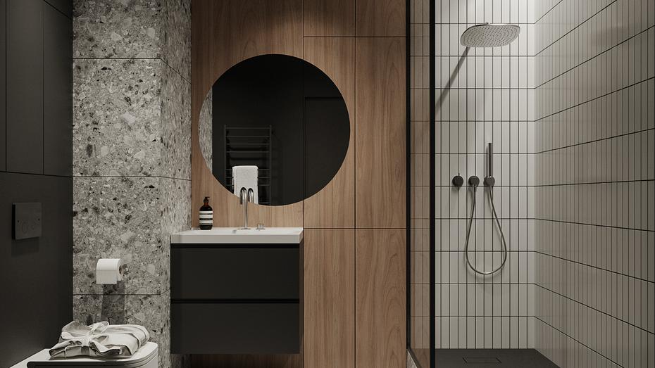 Ничего лишнего: оформляем ванную комнату в стиле минимализм