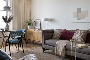 Дизайн 3-комнатной квартиры площадью 60 кв. м: примеры в блочном доме, хрущёвке и новостройке