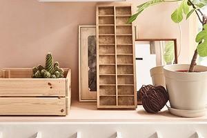 Для хранения и не только: 14 идей использования деревянного ящика из ИКЕА