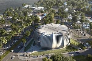 Здание в форме коралла: в Австралии появится биобанк для сохранения морских экосистем