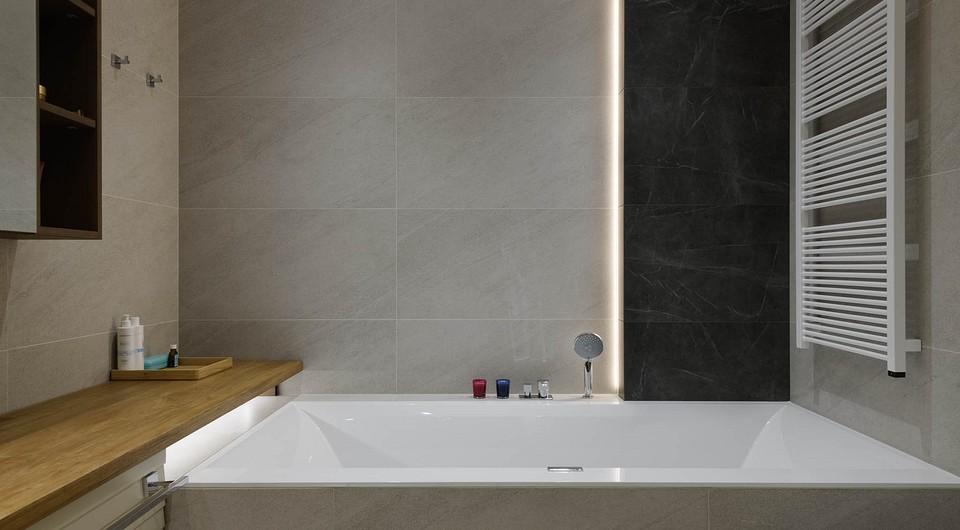 Дизайн маленькой ванной комнаты без туалета (52 фото)