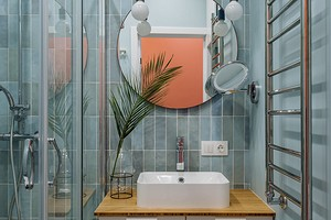 Cочетание плитки и краски в ванной: всё, что нужно знать о комбинации самых популярных материалов