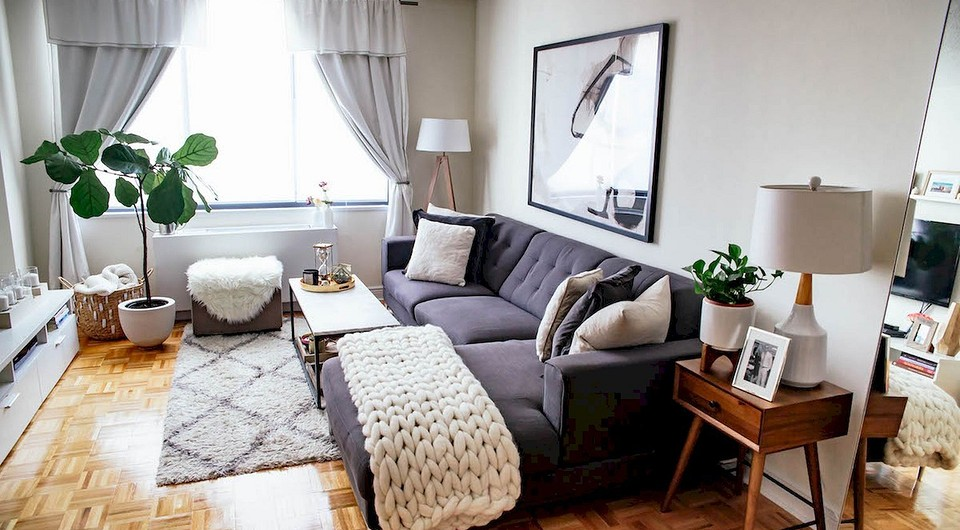 8 правил подбора аксессуаров для маленькой гостиной