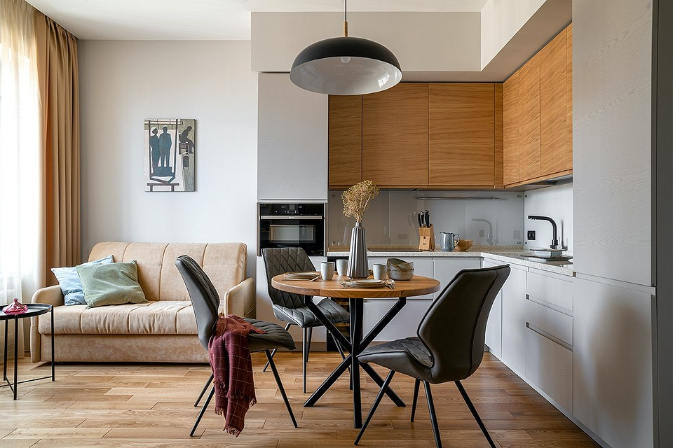 Маленькая квартира с продуманным интерьером