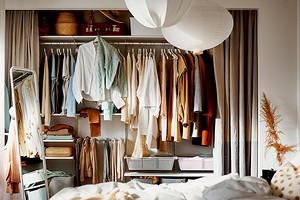 6 вариантов обустройства гардероба в маленькой квартире
