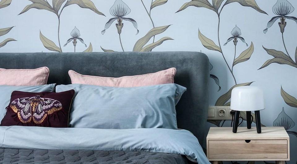 60 вариантов модных обоев 2021 года для спальни (полезно, если вы хотите трендовый интерьер)