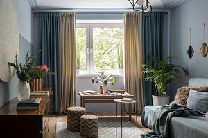 5 вариантов дизайна двухкомнатной квартиры площадью 55 кв. м от профессионалов