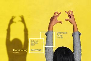 Освещающий желтый и безупречный серый — цвета 2021 года по версии Pantone