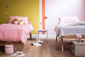 9 оригинальных вариантов оформления цветной стены (без полного закрашивания)