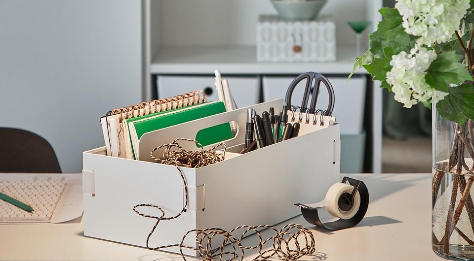 Если любите креатив: 10 предметов из ИКЕА для домашнего творчества
