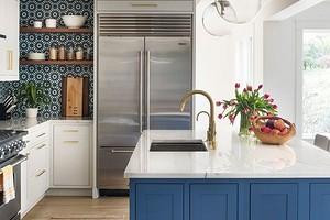 7 практичных и красивых идей из интерьеров американских кухонь (попробуйте применить у себя!)