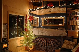 6 маленьких домиков с уютными интерьерами, в которых хочется провести новогодние каникулы