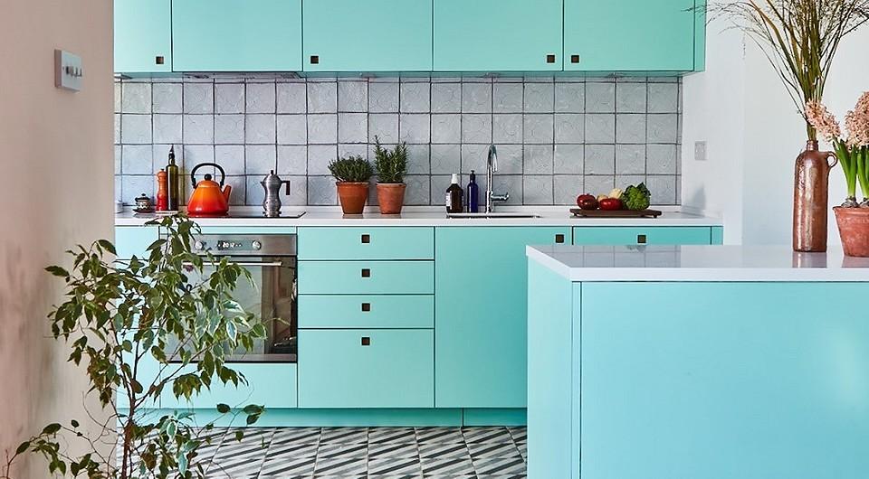 8 необычных оттенков для кухонного гарнитура