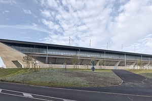 Функциональные выступы вместо привычных углов: как выглядит новый стадион в Швейцарии