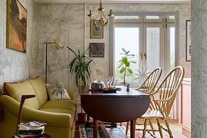 Аутентичная квартира дизайнера в типовом московском доме